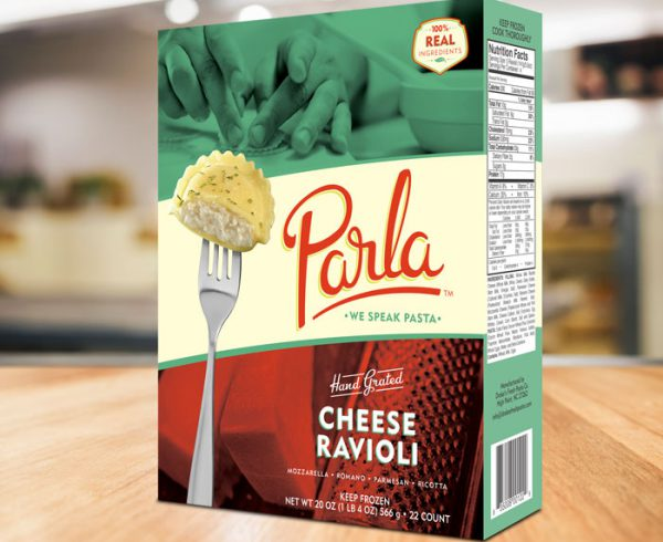 Parla Pasta Package Design