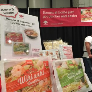 Wiki Wiki Noodles seen at the Summer Fancy Food Show 2017