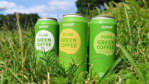 SunUp drink brand seen at the Summer Fancy Food Show 2017
