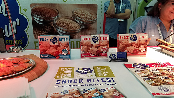 Snack Bites! by Smart Flour at 2017 Expo East