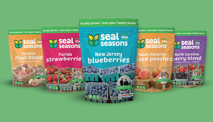 Seal The Seasons of North Carolina package line up