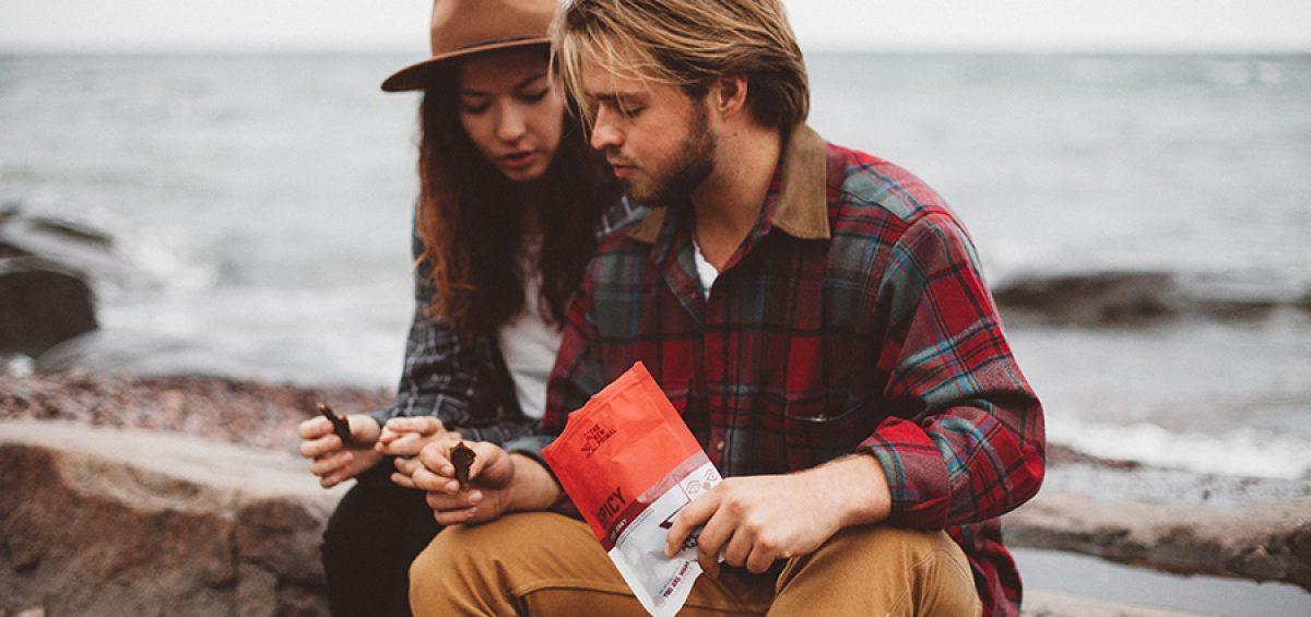 Couple with The New Primal jerky, a paleo jerky disruption brand