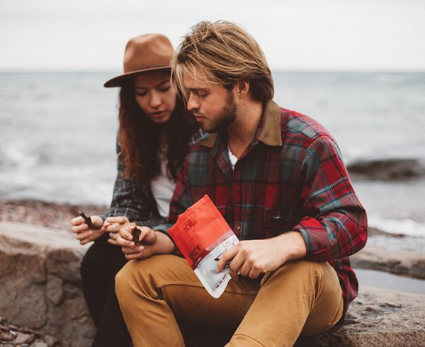 Couple with The New Primal jerky, a paleo jerky disruption brand