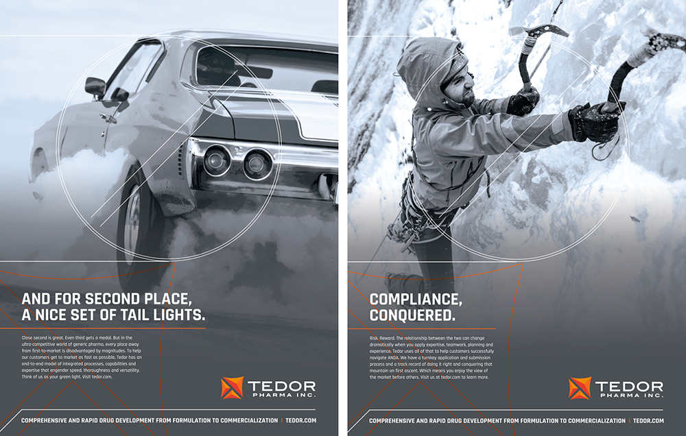 Tedor Pharma marketing and branding by Concentric