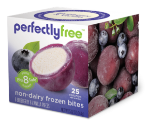 Perfectly Free non-dairy frozen dessert bites