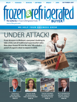 Cover of Frozen & Refrigerated Buyer Magazine October 2017
